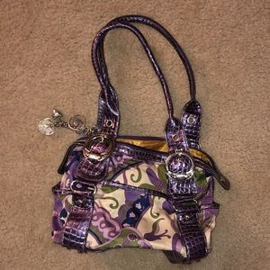 Kathy Van Zee Zealand  purple purse